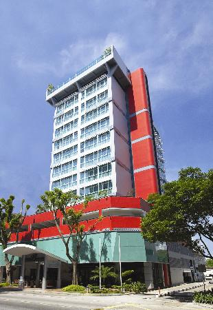Bayview Hotel Singapore: Hotel Facade