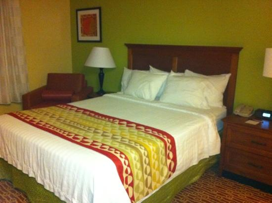 TownePlace Suites Las Cruces: queen bed