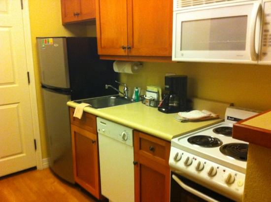 TownePlace Suites Las Cruces: kitchenette