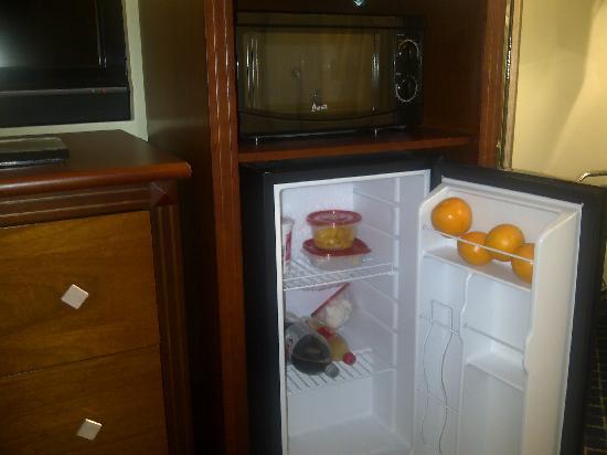 Baymont Inn & Suites Savannah Midtown: mini fridge
