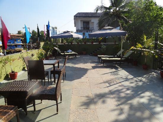 10 Calangute: Terrace View