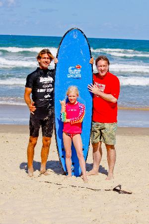 Coolum Surfing School: Ready to learn