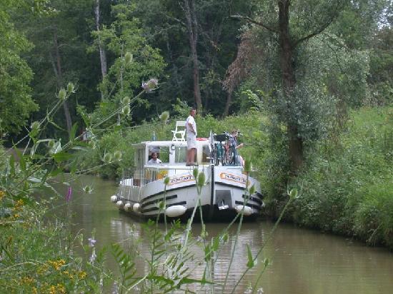 Gers, France : Baïse, rivière sauvage