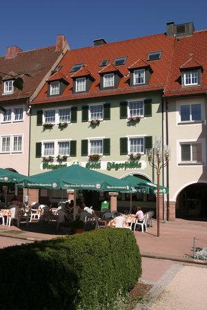 Hotel-Gasthof Jagerstuble : Außenansicht Jägerstüble
