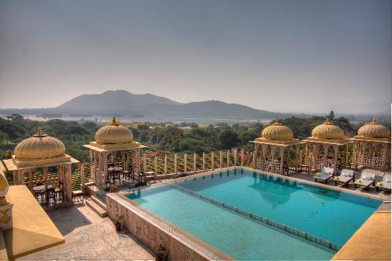Chunda Palace Hotel: Roof