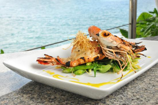 Mom Tri's Kitchen at Villa Royale: Glorious Tiger Prawns