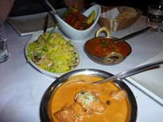 Curry Leaf: Selection of dishes