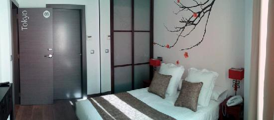 Le Petit Boutique Hotel: Doble Room Tokyo