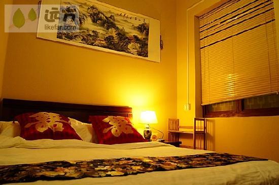 Quanzi International Youth Hostel: 卧室