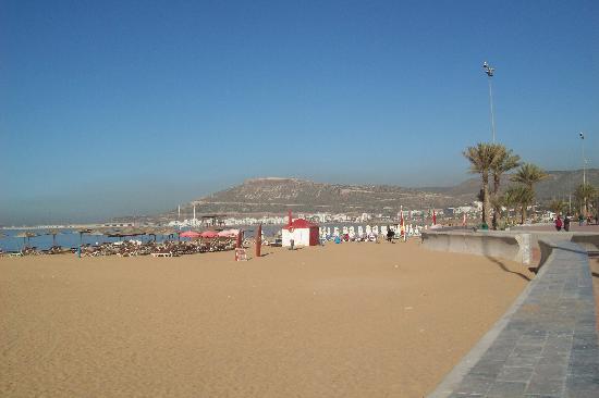 Golden Beach Appart-Hotel: Agidar Beach promenade