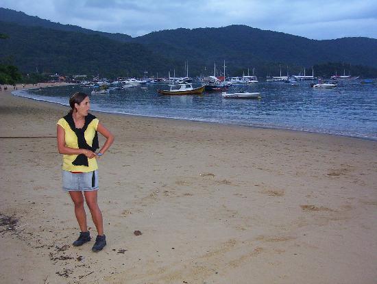Pousada Caicara: Playa en frente de la posada