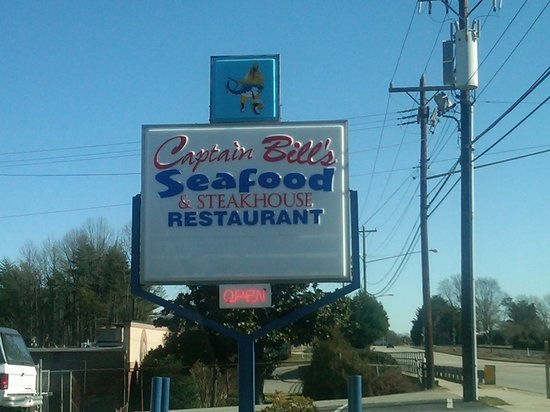 Captain bill 39 s seafood steak greensboro menu prices for Fish market greensboro nc