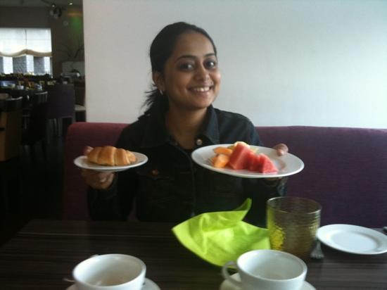 Mercure Lavasa : yummy food at 'celebration' restaurant
