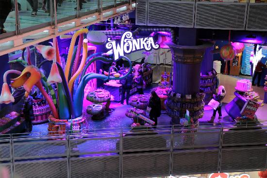 Toys 'R' Us Times Square: Willy Wonka Section