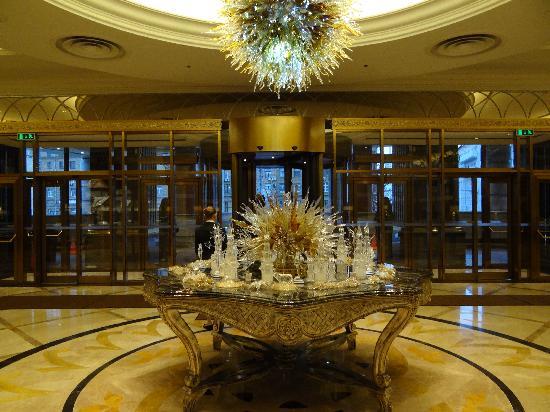 Lotte Hotel Moscow: hall d'entrée