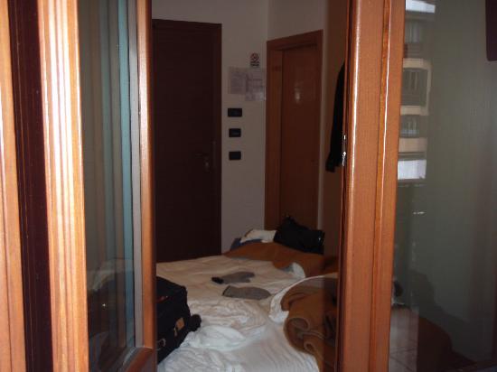 Hotel Bleis : Camera dal balcone