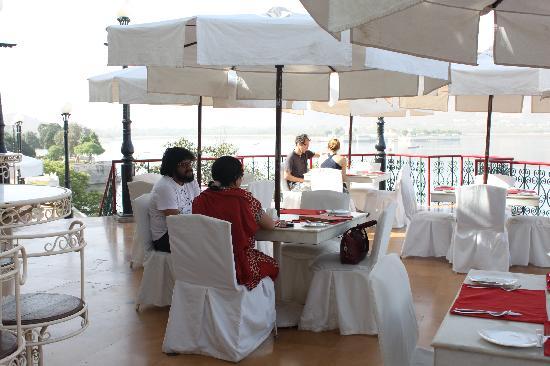 Fateh Prakash Palace: Breakfast