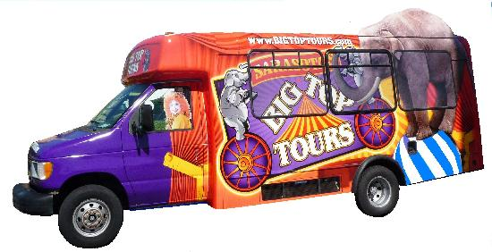 Big Top Tours : Your Big Top Tour Circus Coach