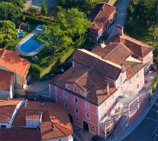 Alegre Hotel Bussaco: Aerial View