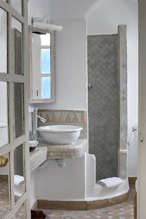 Villa Maroc: salle de bain