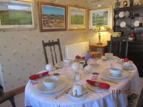 Braeside House: Dinning Room for breakfast