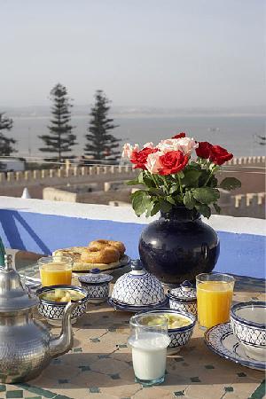 Villa Maroc: Vue panoramique