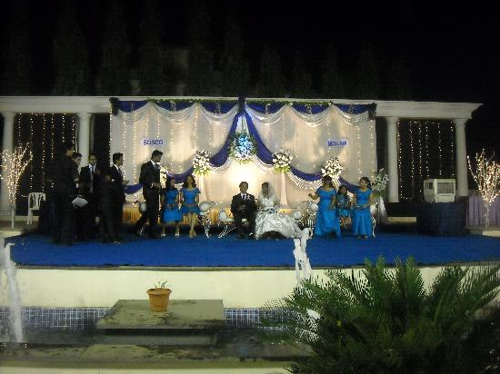 GCC Hotel And Club: The lovely stage