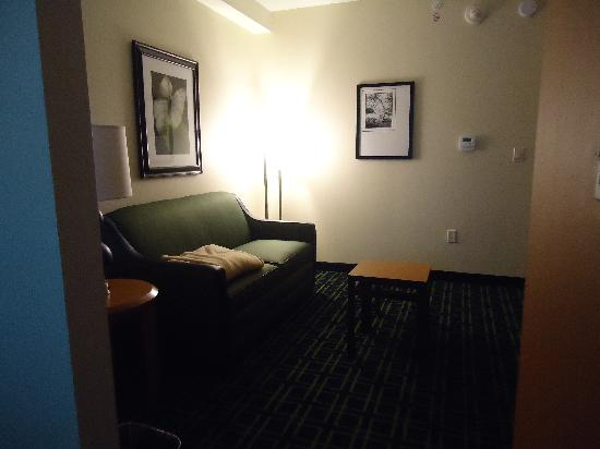 Fairfield Inn & Suites Toronto Mississauga: living room