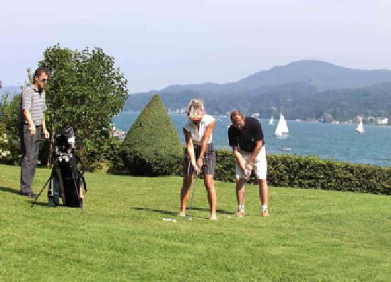 Golf- und Seehotel Engstler: Golfunterricht - kostenlos