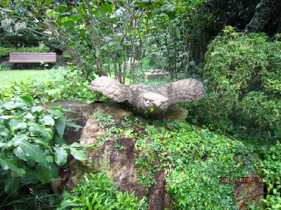 Otani Memorial Art Museum: 庭園