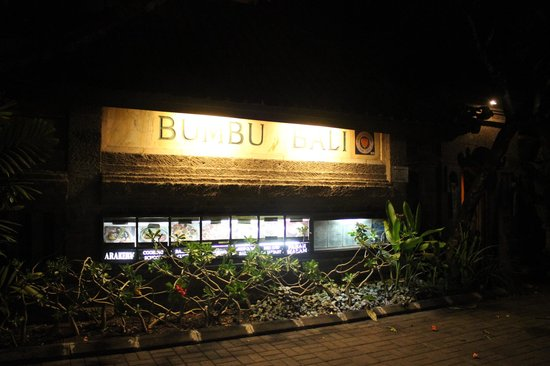 Bumbu Bali 1: Entrance of the Joint