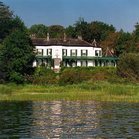 Ashley Park House: view from the lake