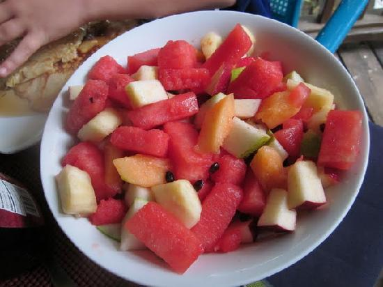 The Lily Pond House Hotel: fruits