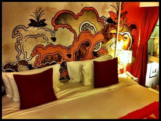 Seven Hotel : Orange room