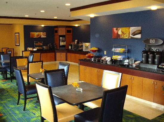 Fairfield Inn & Suites Fargo: Enjoy our free hot breakfast