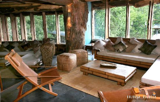 Huilo Huilo Nothofagus Hotel: Sala de Estar