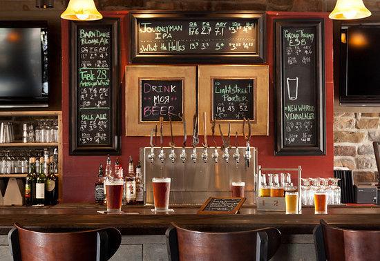 Turkey Hill Brewing Company : Downstairs Bar