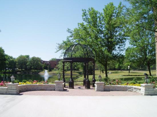Patio Picture Of Wyndham Garden Schaumburg Chicago Northwest Schaumburg Tripadvisor