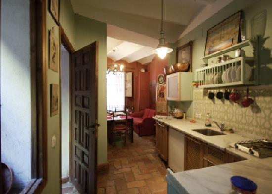 Casa Del Buen Viaje : cuisine disponible a tout moment