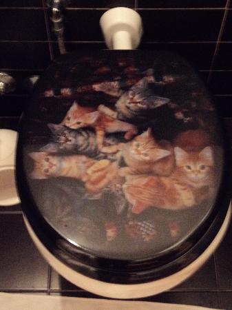 B&B La Donna Garbata: La tavoletta con i gattini
