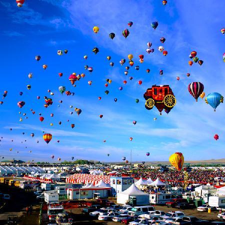 Nativo Lodge Albuquerque: Located near balloon fiesta