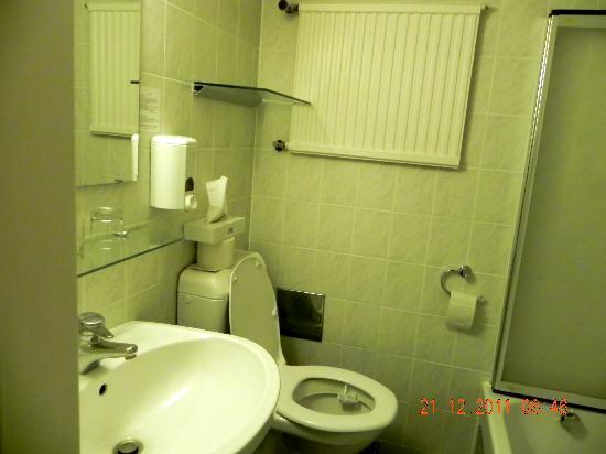 Hotel Ekazent: Bathroom