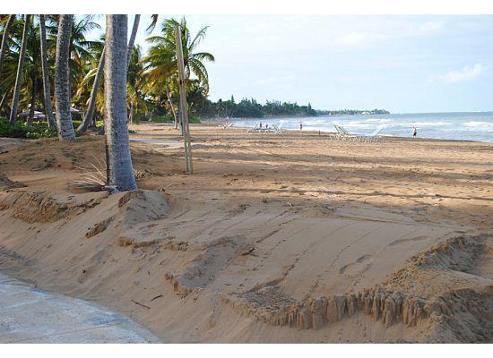 The Ocean Villas: view of beach