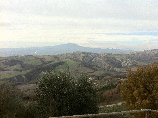 Il Poggio: Vista panoramica dal Poggio (Monte Amiata)