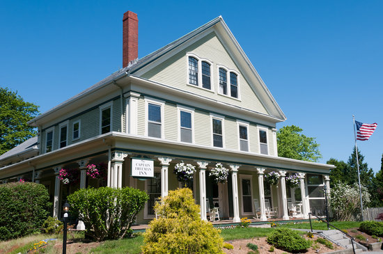 Captain Freeman Inn: Sea Captain's Mansion in the heart of Cape Cod