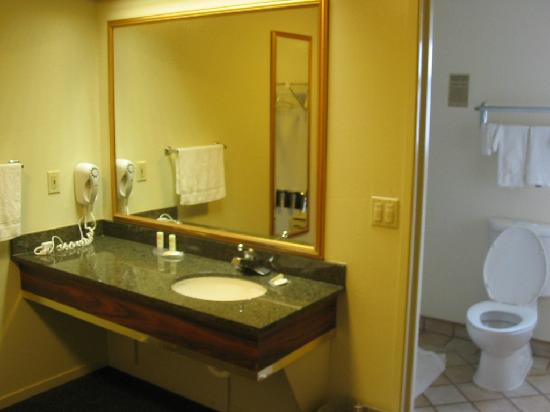 Quality Inn Petaluma - Sonoma: Bathroom