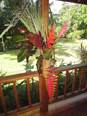 Casa Viva Beach Houses: Bouquet on our porch