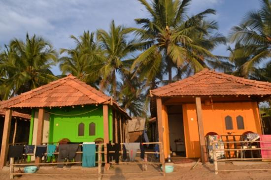 Madhu S Beach Huts Restaurant Our Hut At