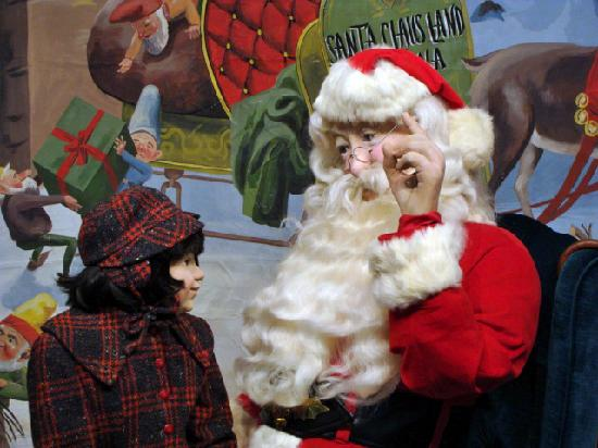The Santa Claus Museum offers a glimpse of the charming town history