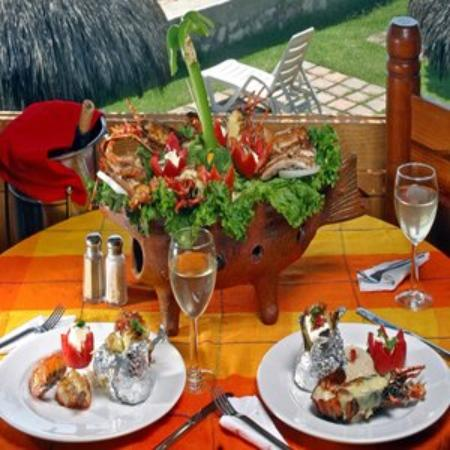 Villas El Rancho Green Resort: Restaurant